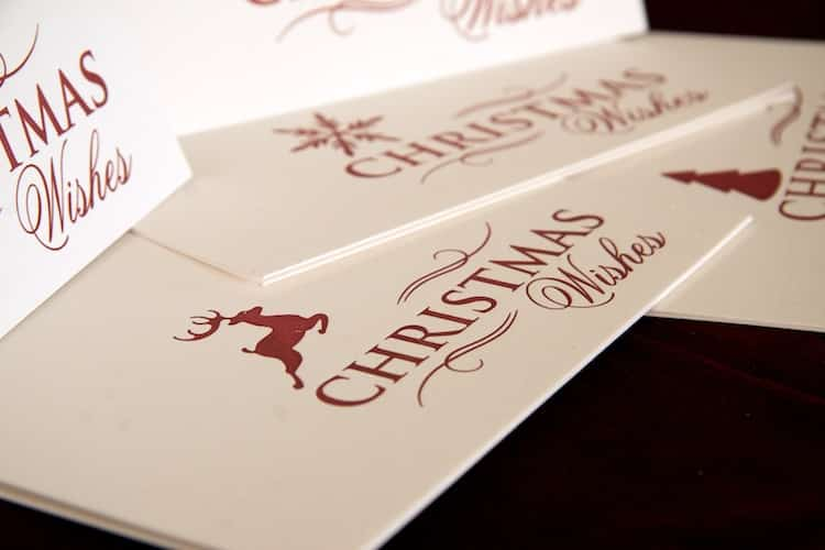 Christmas Cards detail