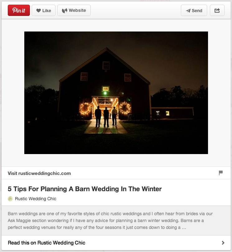 WEDDING PLANNING Getting started with Pinterest