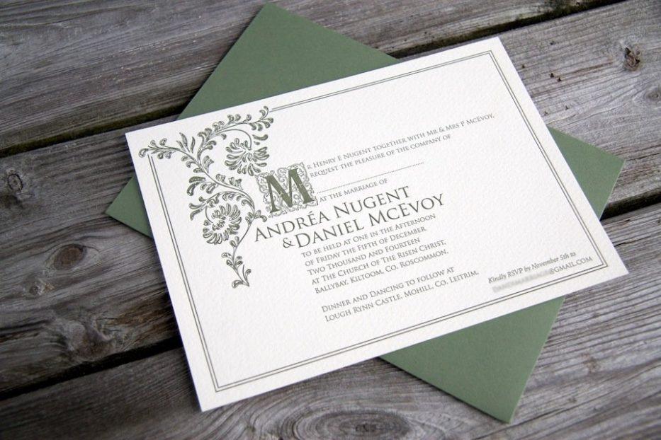 Old English - MAGVA Design + Letterpress