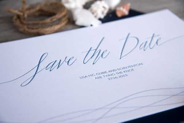 Sea Breeze Save the date detail