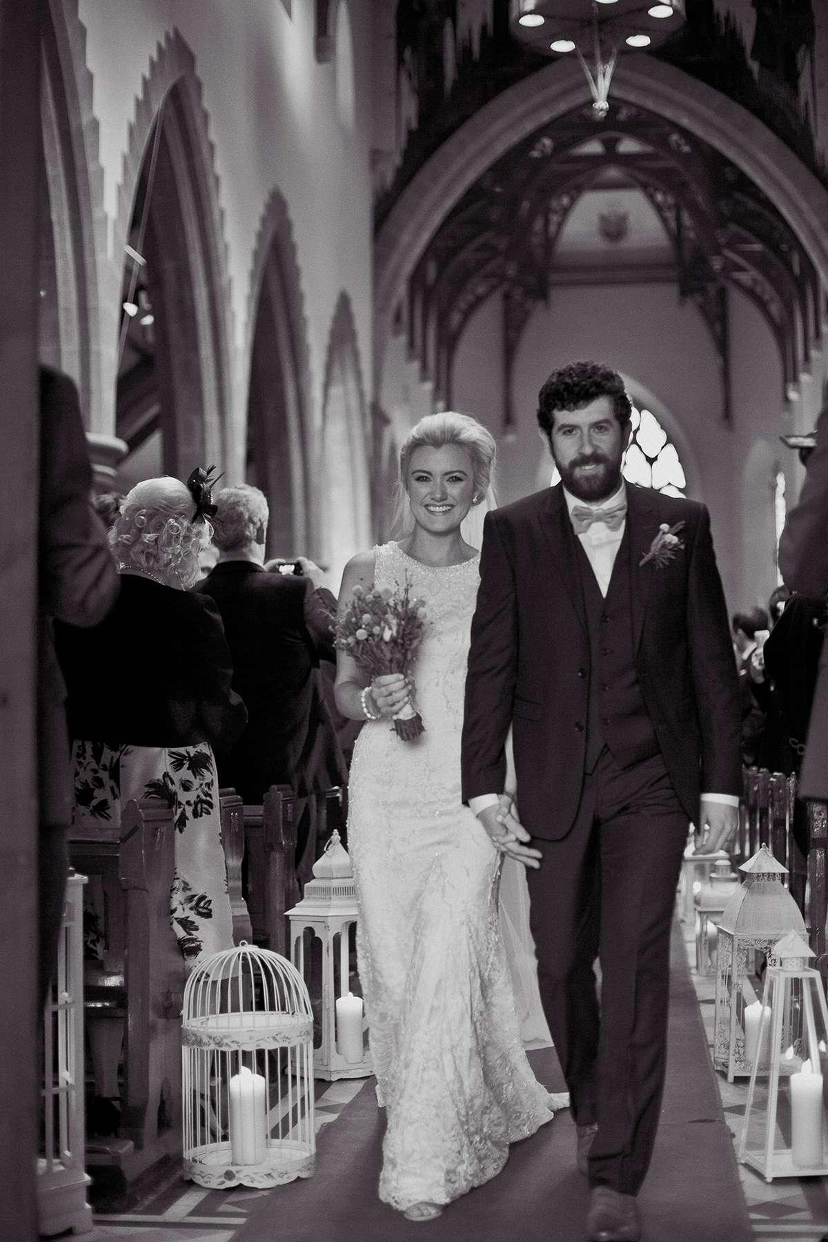 Lisa & Eoin | Walking down the aisle
