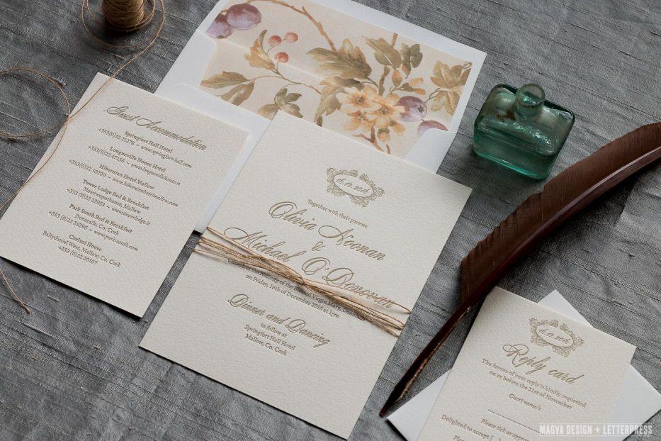 Antoinette - MAGVA Design + Letterpress
