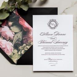 Black Tie MAGVA Design Letterpress
