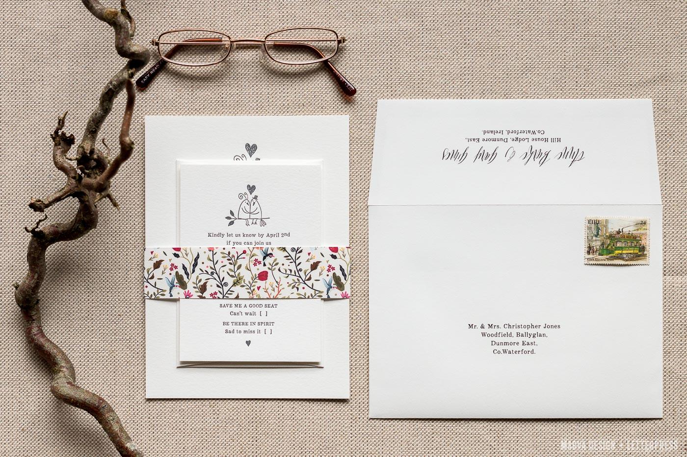 Love Birds - MAGVA Design + Letterpress